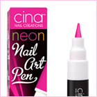 Nail Art Pen Neon Shocking Pink