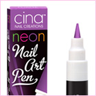 Nail Art Pen Neon Static Purple