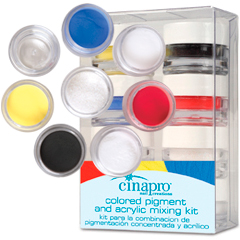 Colored Pigment & Acrylic Mixing Kit